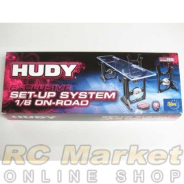 HUDY 108005 Universal Exclusive Set-Up System for 1/8 On-Road Cars