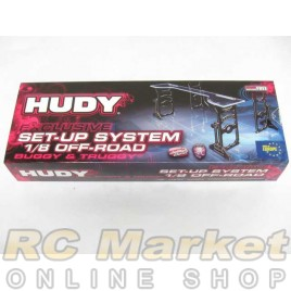 HUDY 108805 Exclusive Alu Set-Up System for 1/8 Off-Road Cars & Truggy