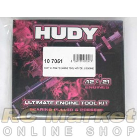 HUDY 107051 Proffesional Engine Tool Kit for .21 Engine