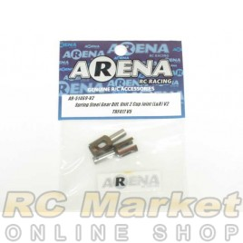 ARENA 51469-V2 Spring Steel TRF417V5 Gear Diff. Unit 2 Cup Joint (L&R)V2