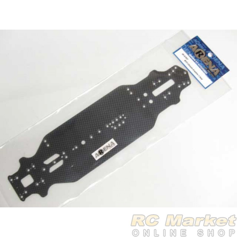 ARENA A2402 MTC1 Chassis Graphite 2.2mm