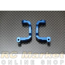ARENA B7-413WB BD7 Alum. Steering Hub Carrier (4°/Double Cvd/Blue)