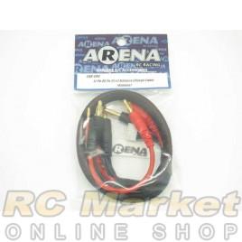 ARENA Li-Po 4S To 2S X2 Balance Charge Cable (Banana)