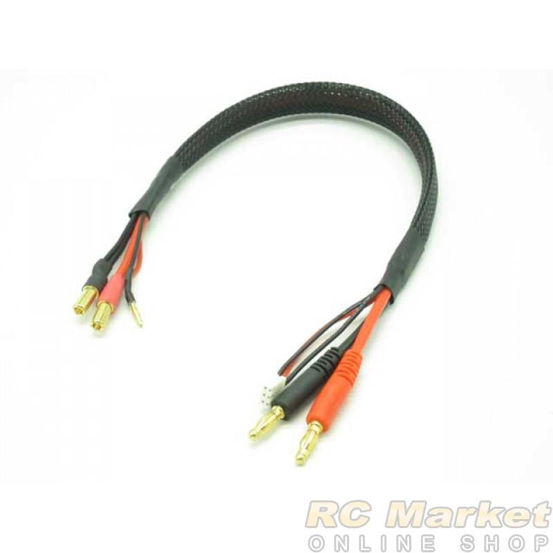 ARENA CAB-C07 Li-Po 2 Cell Balance Chg Cable (4mm Plug To 5mm Plug 380mm)