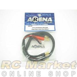 ARENA Li-Po 2 Cell Balance Chg Cable (4mm Plug To 5mm Plug 380mm)