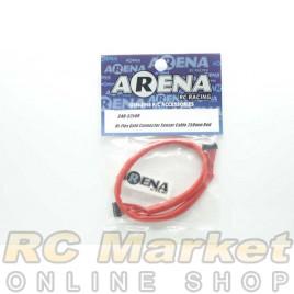 ARENA CAB-S250R Hi-Flex Gold Connector Sensor Cable 250mm Red