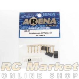 ARENA SCG-3SJ Servo Connector Gold Plated 3 Set For Sanwa/JR