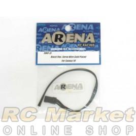 ARENA Black Flex. Servo Wire Gold Plated For Sanwa/Jr