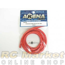ARENA SW-10R Hi Current 10 AWG Silicone Flex. Wire 1m Red
