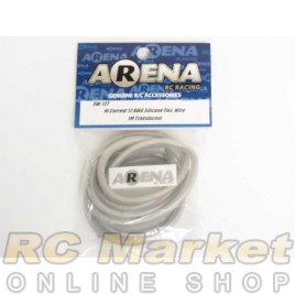 ARENA SW-12T Hi Current 12 AWG Silicone Flex Wire 1m Translucent