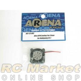 ARENA UCF-25-HV3 Ultra RPM Cooling Fan 25mm For Hobbywing V3.1 & XR10 Pro/G2