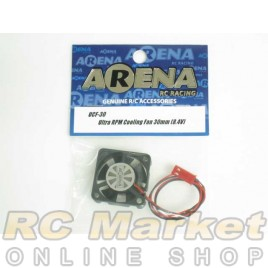 ARENA UCF-30 Ultra RPM Cooling Fan 30mm (8.4V)