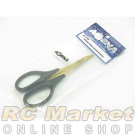 ARENA Titanium Coated Curved Scissors