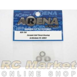 ARENA BER-T04 Ceramic Ball Thrust Bearing 5X10X4mm(F5-10MC)