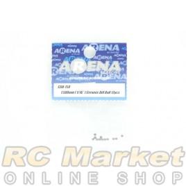 """ARENA 1.588mm (1/16"""") Ceramic Diff Ball 12pcs"""