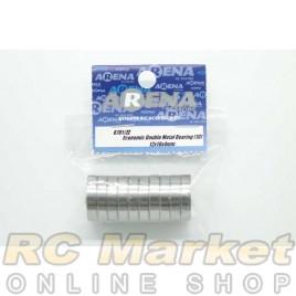 ARENA 12X18X4mm Economic Double Metal Bearing (10)