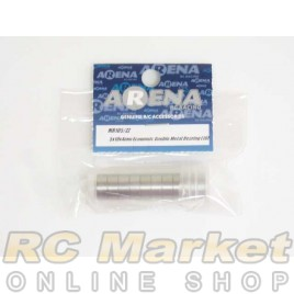 ARENA 5X10X4mm Economic Double Metal Bearing (10)