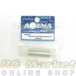 ARENA 6X10X3mm Economic Double Metal Bearing (10)