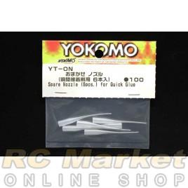 YOKOMO YT-ON Spare Nozzle (6pcs) for Quick Glue