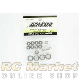 AXON BS-PG-M001 X10 Ball Bearing Set For Mugen MTC2
