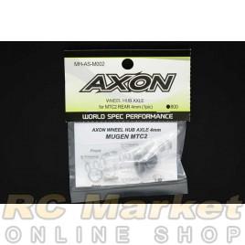 AXON MH-AS-M002 Wheel Hub Axle for MTC2 Rear 4mm (1pic)