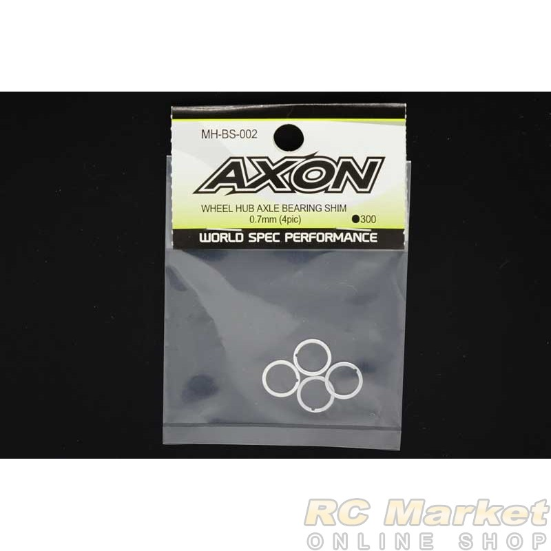 AXON MH-BS-002 Wheel Hub Axle Bearing Shim 0.7mm (4 pic)