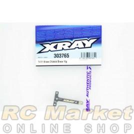 XRAY 303765 T4'21 Brass Chassis T-Brace 10g