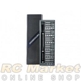 ARROWMAX 199903 Premium Precision Screwdriver Set with Alu Case (36 in 1) Carbon