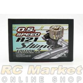 O.S. SPEED 1DJ00 R21 Shimo Edition 2 Combo Set w/ TR02 EFRA2165+MR03 WC