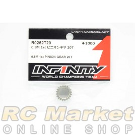 INFINITY R0252T20 IF18 0.8M 1st Pinion Gear 20T