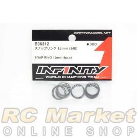 INFINITY B06212 Snap Ring 12mm (6pcs)