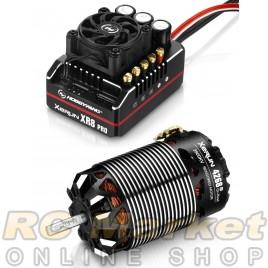 HOBBYWING 38020430 Xerun XR8 PRO Combo B 4268 SD G3 2800kv 1/8 OnRoad