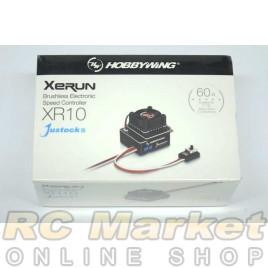 HOBBYWING 30112003 Xerun XR10 Justock G3 (Black)