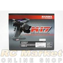 SANWA M17 4CH 2.4GHz TX+RX-492+RX-493 Radio System HK Ver. (FREE FedEx Shipping)