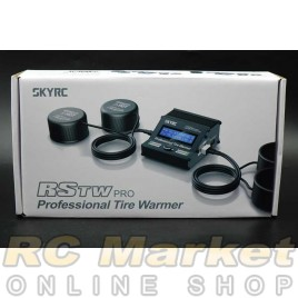 SKYRC 600064-06 RSTW PRO Professional Tire Warmer (Black) Version V2 With Silicone Cups