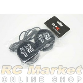 SKYRC 600064-07 RSTW PRO Tyre Warmer Type-L (Black) Silicone Cups