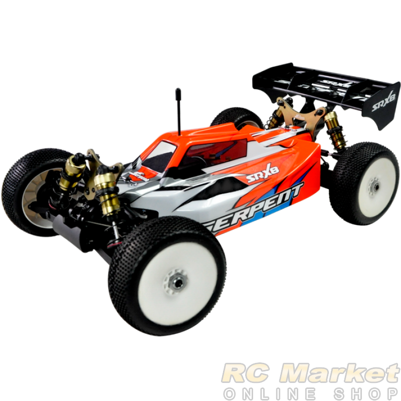 SERPENT 600022 SRX8-E RTR 1/8 4wd EP (Free Shipping)