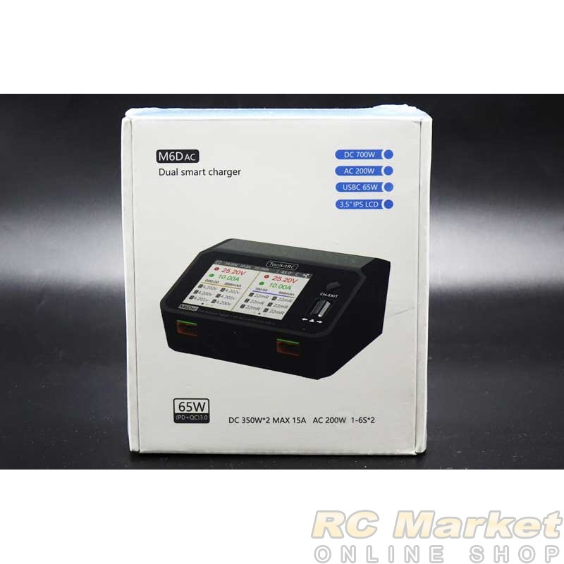 ToolkitRC M6DAC Charger