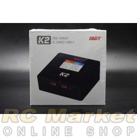 ISDT K2 Dual Channel AC200W / DC500Wx2 Smart Charger