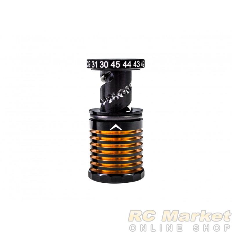 ARROWMAX 171099 30-45mm Adjustable Ride Height Gauge Black Golden