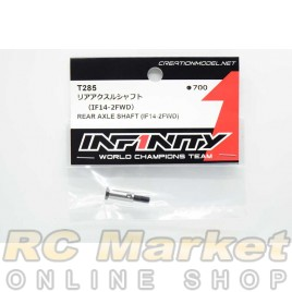 INFINITY T285 IF14-2FWD Rear Axle Shaft