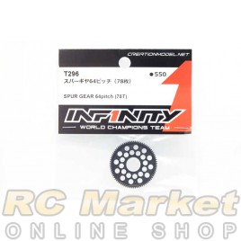 INFINITY T296 IF14-2 Spur Gear 64pitch (78T)