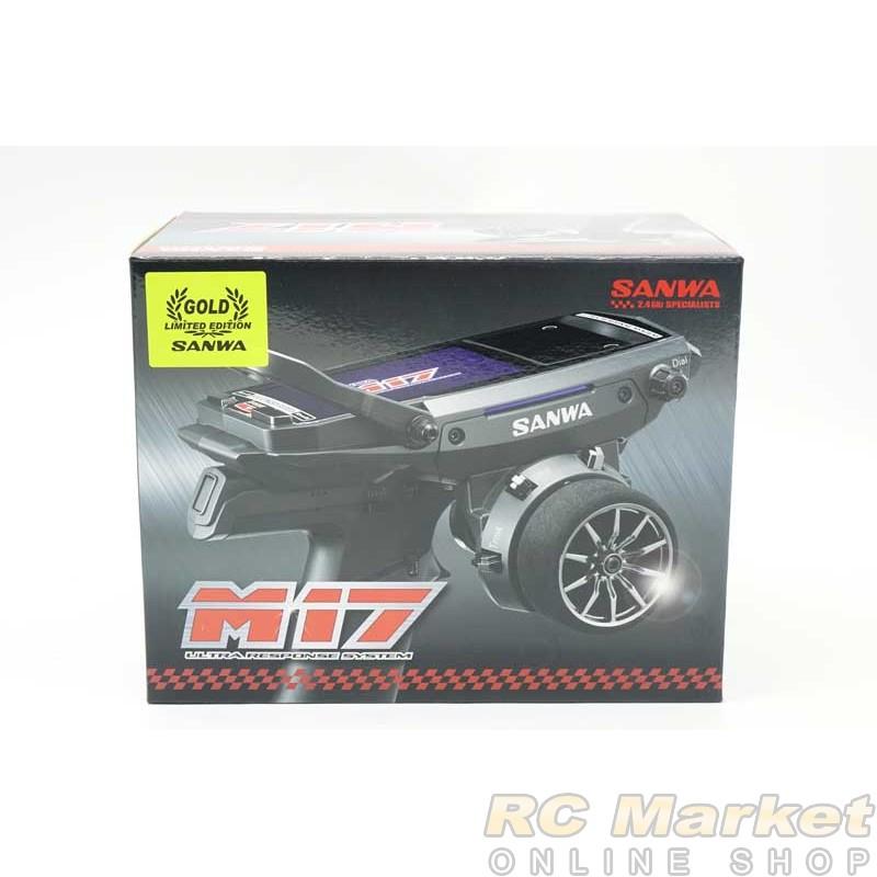 SANWA M17 4CH 2.4G Tx + RX493 x1 Limited Gold Edition (FREE FedEx Shipping)