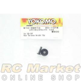 YOKOMO B10-BWR10 Rear Balanse Weight 10g for BD-10F