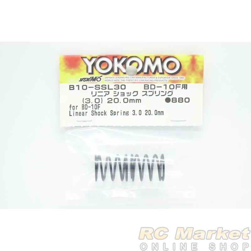 YOKOMO B10-SSL30 Linear Shock Spring 3.0 / 20.0mm for BD10F