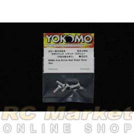 YOKOMO ZC-BH38A M3x8 Alum. Button Head Socket Screw (4pcs)