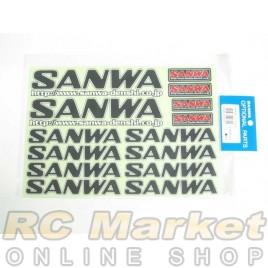 SANWA Decal (BLK)