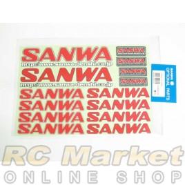 SANWA Decal (RED)