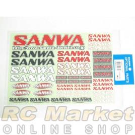 SANWA Decal (CLR)
