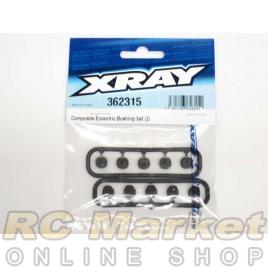 XRAY 362315 Eccentric Bushing Set (2)